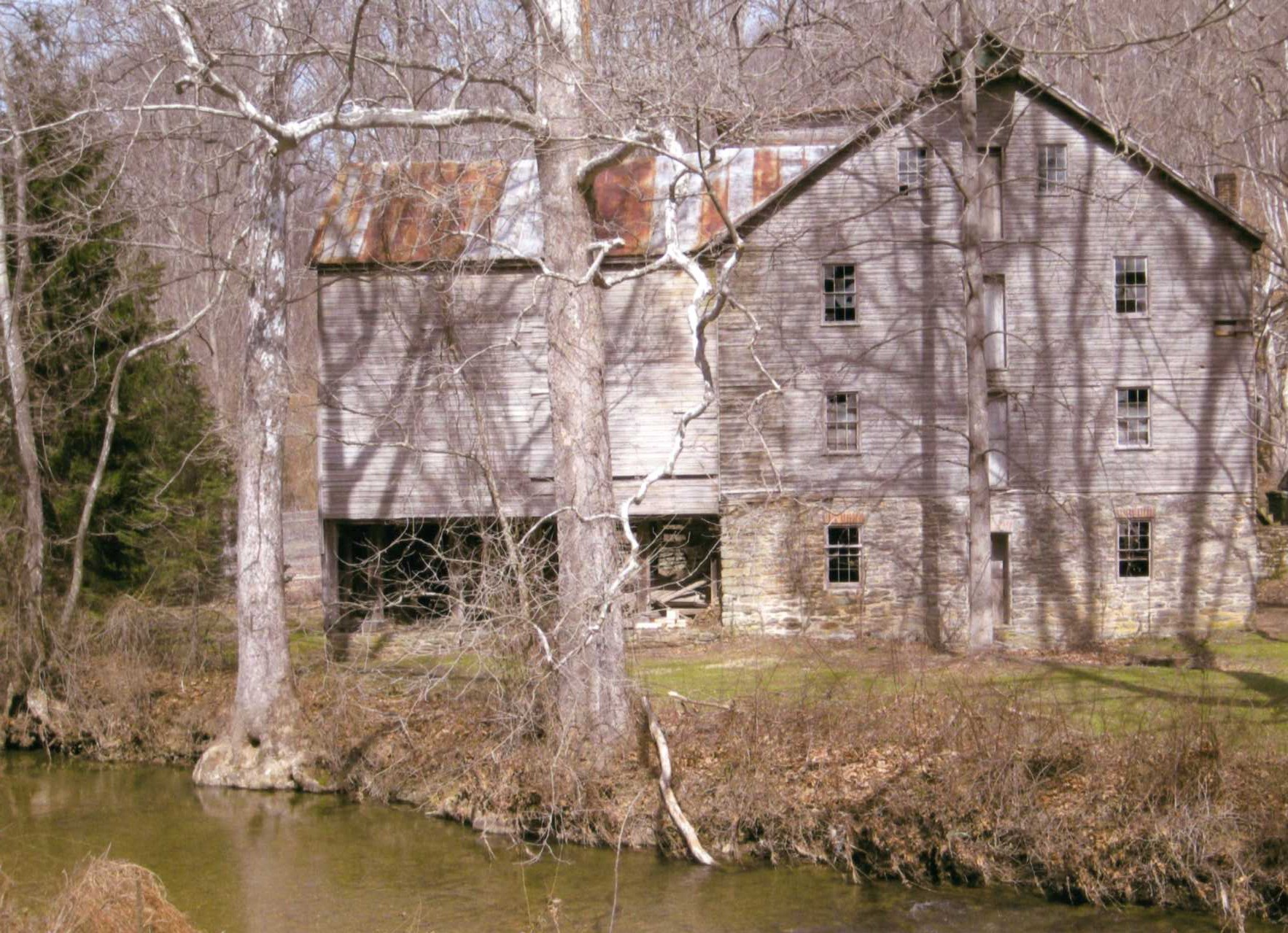 Old Grist & Saw Mill